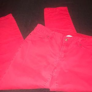 Liz Claiborne Ladies Red Pants